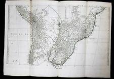 Carte Amérique méridionale Jean-Baptiste Bourguignon d'Anville (1697-1782) Pérou