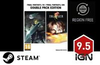 Final Fantasy VII & VIII (7 & 8) Double Pack [PC] Steam Download Key