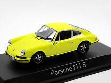 Norev 750056 - 1973 Porsche 911 S 2.4 - yellow - 1/43 - NEU