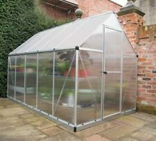 More details for mythos greenhouse walk-in aluminium and polycarbonate in 4 sizes palram-canopia