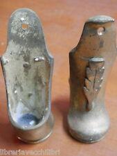 PIEDINO PER MOBILE ANTICO in bronzo ottone stile classico impero zampa puntale