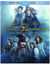 PIRATES OF THE CARIBBEAN:DEAD MEN TELL NO TALES(BLU-RAY+DVD+DIGITAL HD)W/SLIPCVR