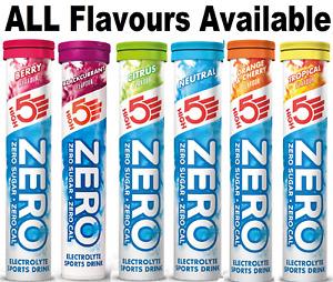 HIGH5 ZERO Electrolyte Hydration Tablets Added Vitamin C - 20 Tab Tube Berry, UK