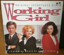 WORKING GIRL ORIGINAL FILM SOUNDTRACK ALBUM FT CARLY SIMON S 209 767 ARISTA LP