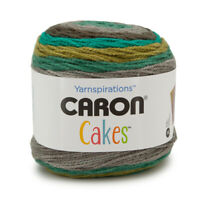 Caron Cakes Wool Acrylic Blend Worsted Striping Yarn Medium #4 Cake Knit Crochet