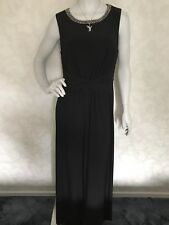 PLANET ~ Women's Black Embellished Maxi Dress ~ BNWT Shop Price £119