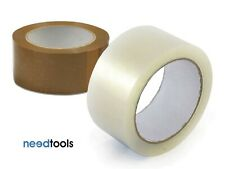 Box of 36 - Packaging Tape 48mm x 75m Brown Packing Tape PP100