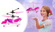 Wireless Flying Unicorn Pink Princess Girls Toy Doll Xmas Gift UK With Light LOL