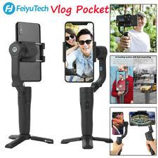 Feiyu Vlog Pocket Foldable Wireless Smartphone Gimbal Stabilizer Remote Control