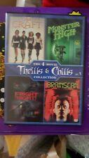 The 4-Movie Thrills & Chills Collection:(DVD, 4 DISC) BRAINSCAN Monster High