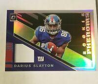 DARIUS SLAYTON New York Giants 2019 Donruss OPTIC Rookie Phenoms Jersey 23/50 SP