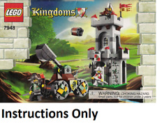 INSTRUCTIONS ONLY LEGO OUTPOST ATTACK 7948 book manual from set Kingdoms