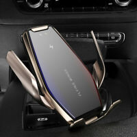 15W Qi Wireless Charger Car Charging Dock Bracket For i Phone 11 11Pro 8 X XS XR