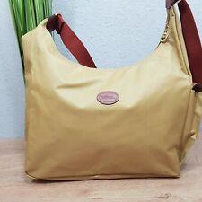 Longchamp Hobo Bag Wickeltasche creme beige crossbody neuwertig