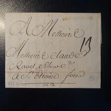 MARQUE POSTALE LETTRE COVER DE St HIPOLITE 1767 L3