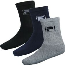 Fila Herrensocken 2er-Pack in 3 Farben Sportsocken Tennissocken 70 % Baumwolle