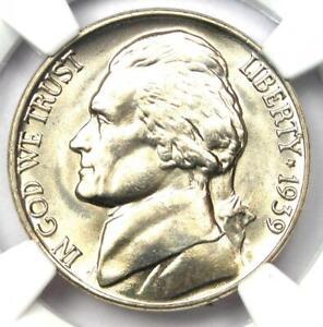 1939 Jefferson Nickel 5C Reverse of 1940 - NGC MS68 5FS. Top Pop - $17,500 Value