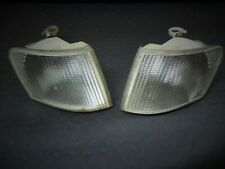FORD ESCORT MK5 2 X PAIR GENUINE FRONT  CLEAR INDICATOR  LENS FROM 1992 YEAR