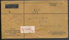 NNG., R-ENVELOP PORT BETAALD(fl. 2,60) HOLLANDIA 1 - WAGENINGEN 27.II.61 Zk003