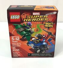NEW Lego Marvel Super Heroes with Spider-Man vs Green Goblin Mini-Figures 76065