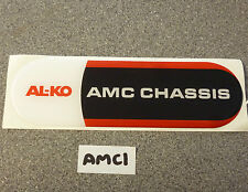 ALKO AMC chassis resin badge for Bailey motorhome AMC1