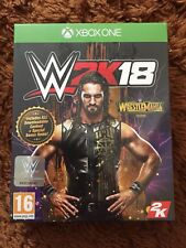 WWE 2K18 Xbox One Wrestlemania Edition Brand New