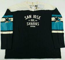 NEW CCM Reebok NHL San Jose Sharks Team Classics Long Sleeves Shirt Size 3XL