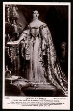 1910 QUEEN VICTORIA TAKING THE OATH PROTESTANT FAITH REAL PHOTO POSTCARD SUPERB