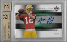 2005 Aaron Rodgers Ultimate Collection Auto RC- BGS 9.5 Gem Mint... #14/75