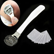 Dead Skin Cutter Callus Cuticle Shaver Pedicure Remover Foot Tool with 10 Blades