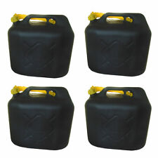 4x20L Benzinkanister Kraftstoffkanister Kraftstoff Reserve Kanister UN-Zulassung