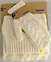 Knitted Scarf & Mitten REEBOK Gloves Woolen Thick Cosy High Quality Gift Warm