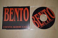 Bento – España Quiere Caña. 8601472-6 CD-Maxi