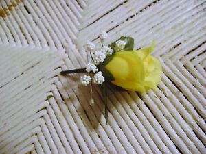 Rose Boutonniere~Corsage~your choice~Groom~Best man~men~Prom~Wedding~Quinceanera