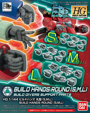 Gundam HG Build Custom HGBC #044 Build Hands Round (S,M,L) 1/144 Model Kit