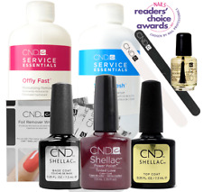 CND Shellac Starter Kit, Top/Base/Essentials/Color Tinted Love