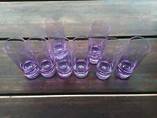 Sevizio 8 Bicchieri Cristallo Vintage Anni 70 Arnolfo di Cambio style