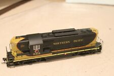 NP Northern Pacific Proto 2000 GP7 #555 with DCC installed in HO Scale
