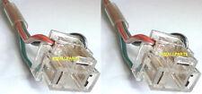 Para Toyota Hiace Hilux Previa Faro H4 3PIN Bombilla Soporte de alambre trasero Conector