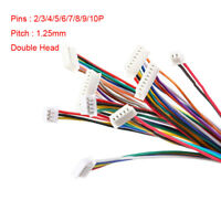 Double Head 2/3/4/5/6/7/8/9/10P 10cm Connector Plug With Wire Electronic Cable