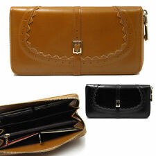 Leather Clutch Coins & Money Wallets for Women