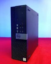 Dell Optiplex SFF 5040 New 512GB SSD i5 3.2GHz 8GB Ram AMD Gfx WIFI DVD-RW  W10