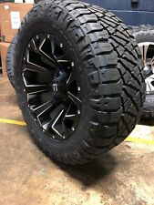 "20x10 Fuel D546 Assault 33"" Nitto Wheel & Tire Package 6x139.7 For Toyota Tacoma"