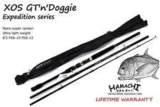 2018 Hamachi XOS GT'n'Doggie Nano PE 6 - 10 (50 - 100 lb) Popper 8'2 fishing rod