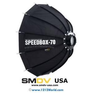 "SMDV Speedbox-S70B 28"" Quick Folding Softbox with DA-02 Bowens Mount Adapter"