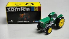 VINTAGE TOMICA 92 KUBOTA TRACTOR FARM VEHICLE MADE IN JAPAN RARE