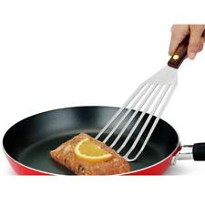Round Nonstick Iron Frying Pan with Slotted Turner Spatula Shovel Cooking S