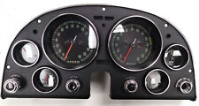 Complete! Refurbished 1967 Chevy Corvette Dash with All Gauges and Switches