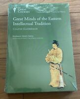 NEW Sealed Great Courses Great Minds of Eastern Intellectual Tradition DVD Book