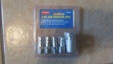 American 5 Piece Air Coupler - Zinc - #12089 - NEW!!! (G 9)